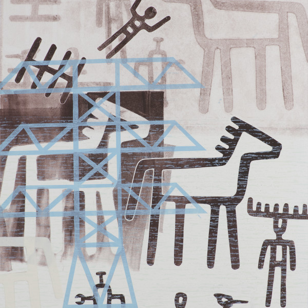 Joe Feddersen - Inhabited Landscapes 3, 2020