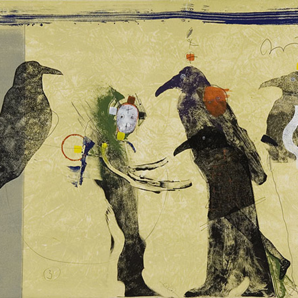 Rick Bartow - Song Bringer and the Birds of Humanity, 2007