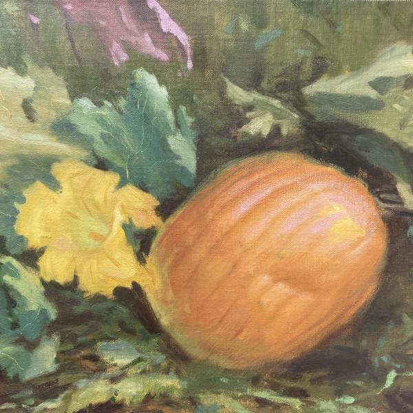 Gabriel Liston - Wapato Island and Pumpkin Squash and Blossom, 2020