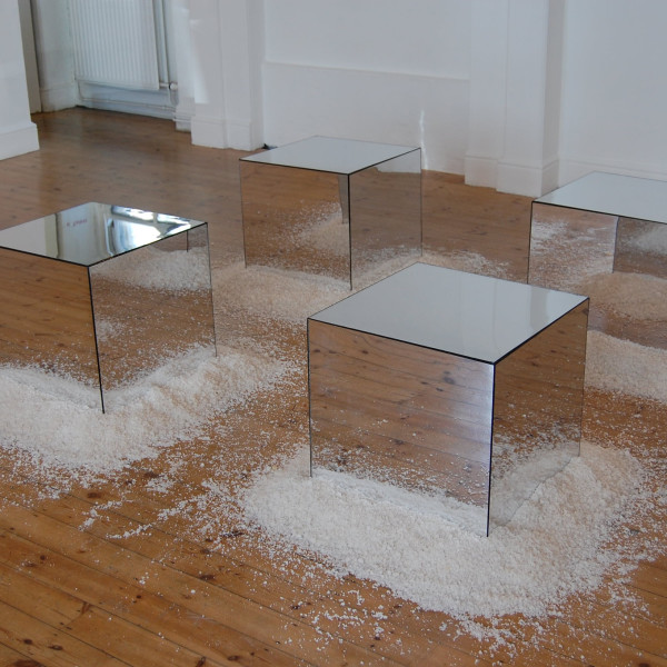 Jeremy Millar - Untitled (Mirror Cubes), 2010