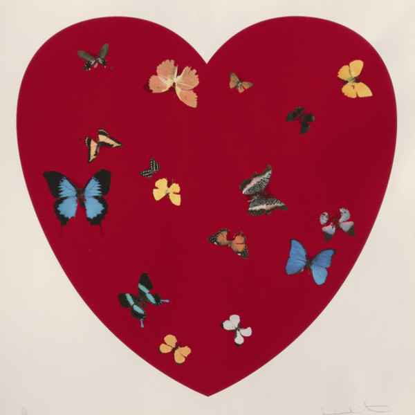 Damien Hirst, Big Love *SOLD*, 2010