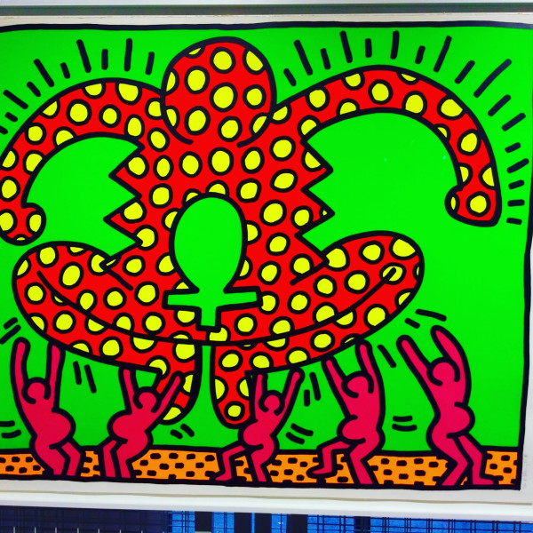 Keith Haring, Fertility Number 4 *SOLD*, 1983