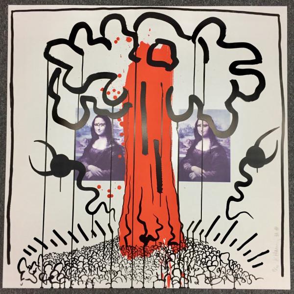Keith Haring, Apocalypse No. 1 , 1988