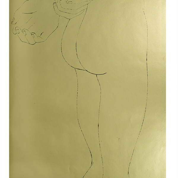 Andy Warhol, A Gold Book, IV.109, 1957
