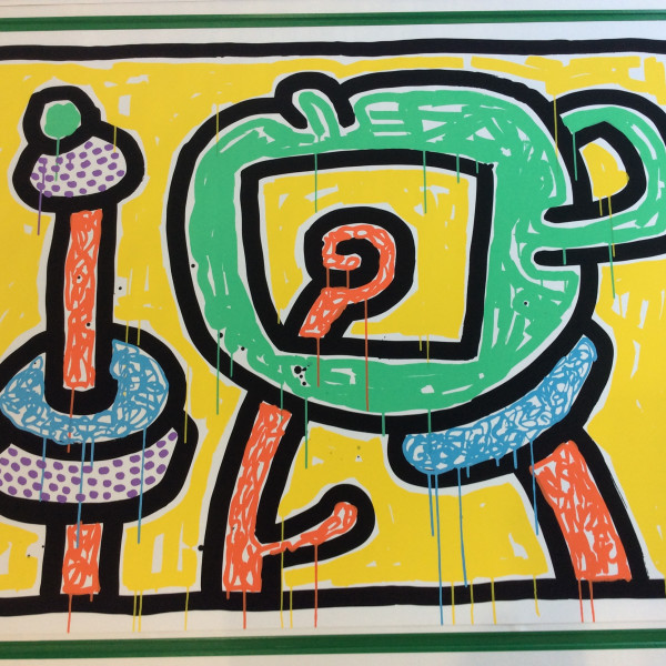 Keith Haring, Flowers 3, 1990
