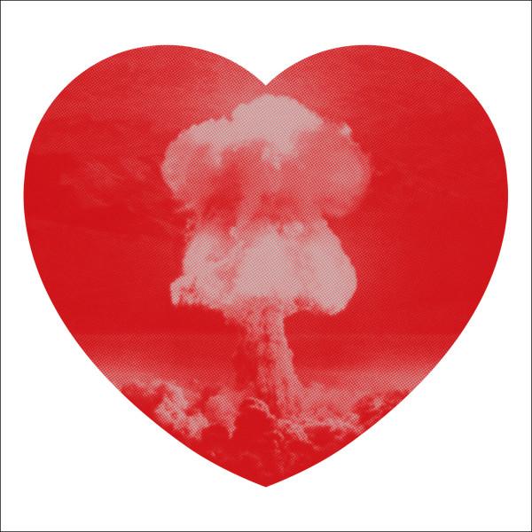 Iain Cadby, Love Bomb (Valentine Red), 2019