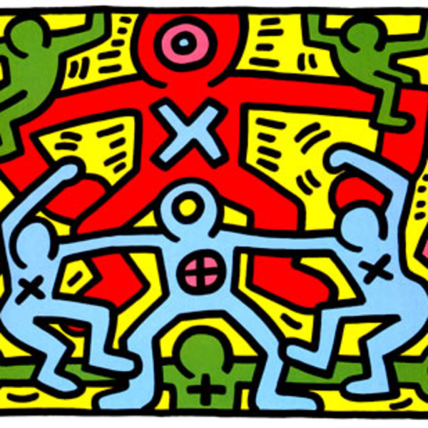 Keith Haring, Untitled *SOLD*, 1985