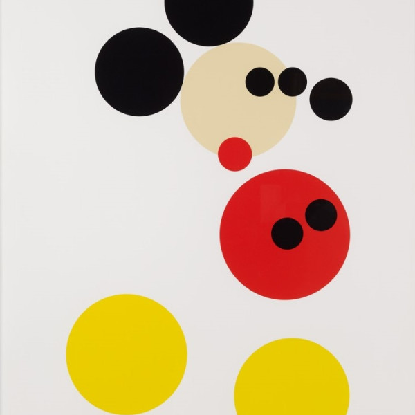 Damien Hirst, Mickey (Large), 2014