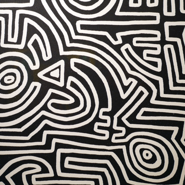 Keith Haring, The Labyrinth *SOLD*, 1989