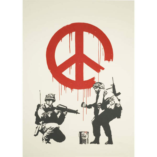 Banksy, CND Soldiers *SOLD*, 2005