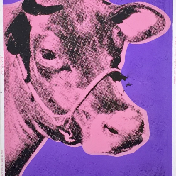 Andy Warhol, Cow, 1976