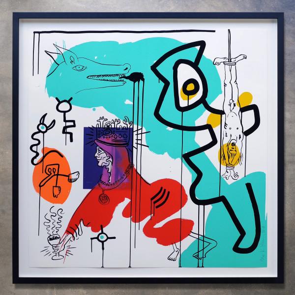 Keith Haring, Apocalypse No. 9, 1988