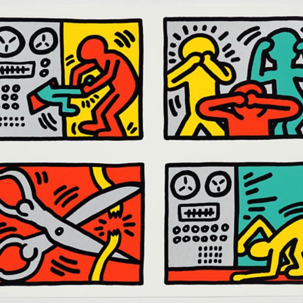 Keith Haring, POP SHOP QUAD III *SOLD*, 1989