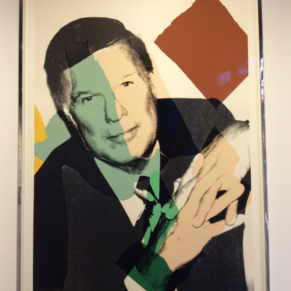 andy warhol, Frederick Weisman *SOLD*, 1975