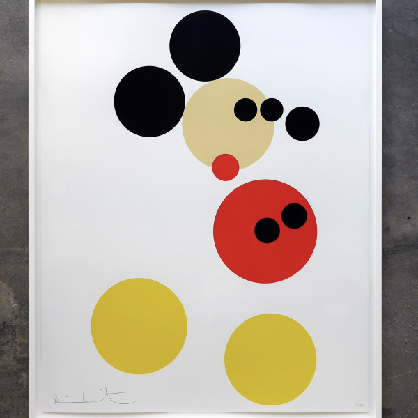 Damien Hirst, Mickey (Small), 2014