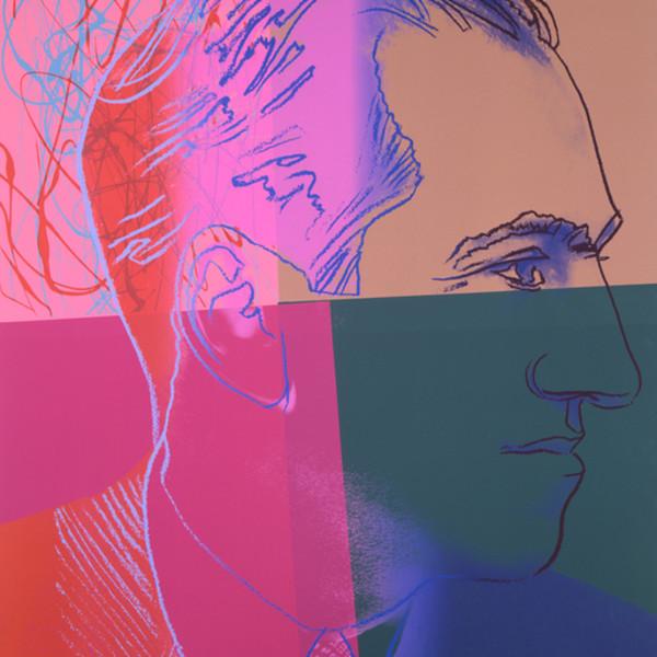 Andy Warhol, George Gershwin (F&S II.231) *SOLD*, 1980