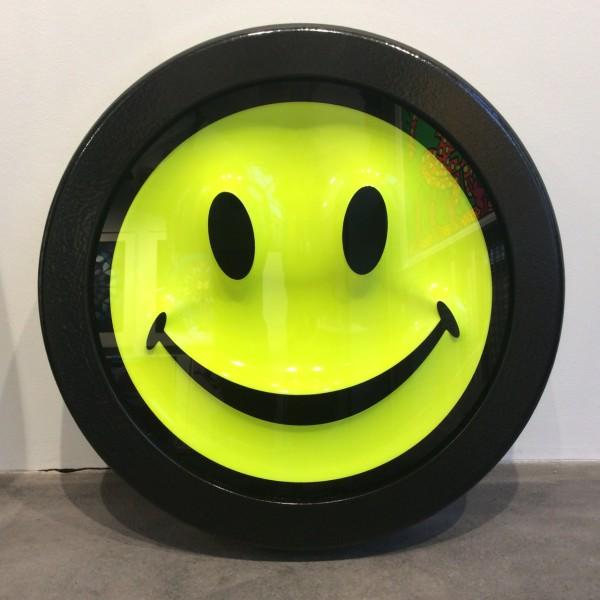 RYCA (Ryan Callanan), Fluorescent Smiley Face 'new in gallery' , 2017