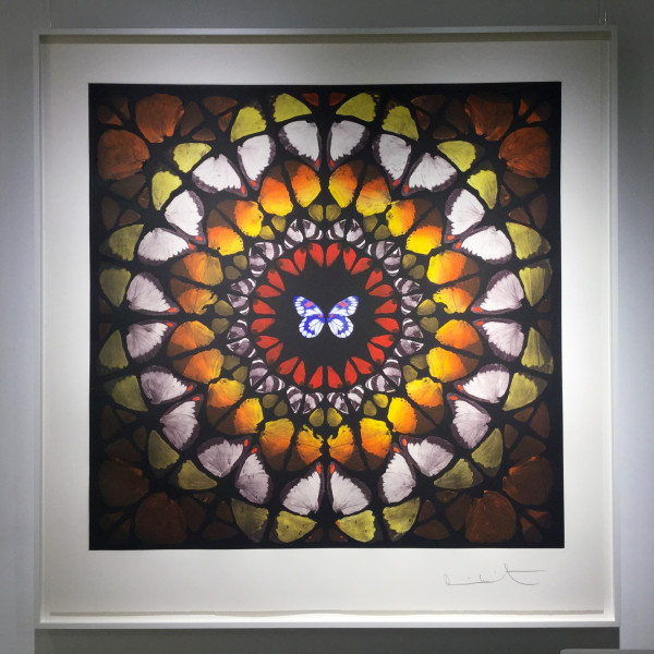 Damien Hirst, Chancel (from the Sanctum series), 2009