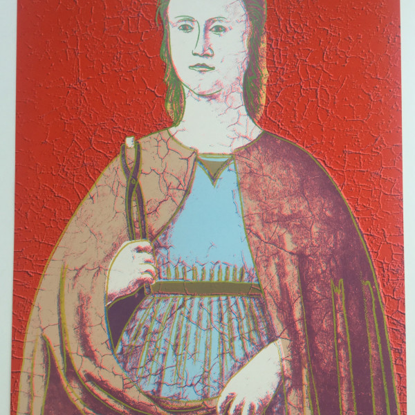 Andy Warhol, Saint Apollonia - complete suite of 4 *SOLD*, 1984