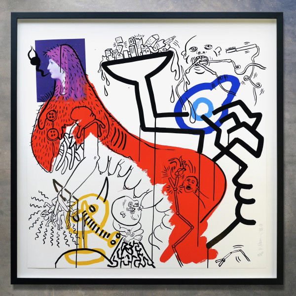 Keith Haring, Apocalypse No. 4, 1988