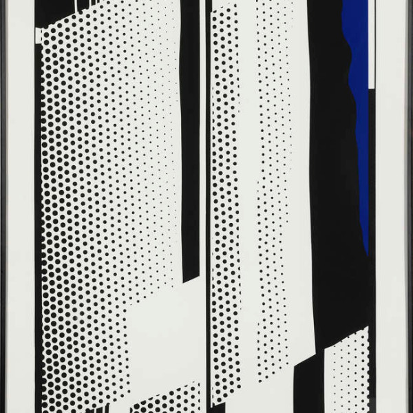 Roy Lichtenstein, Twin Mirrors