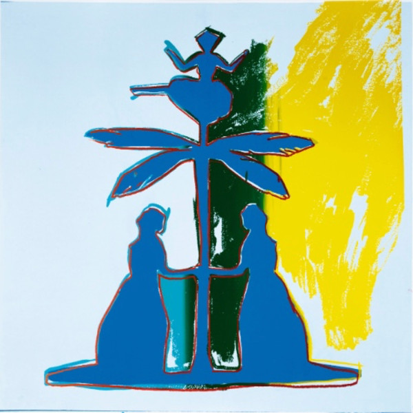 Andy Warhol, Hans Christian Andersen (Unique), 1987