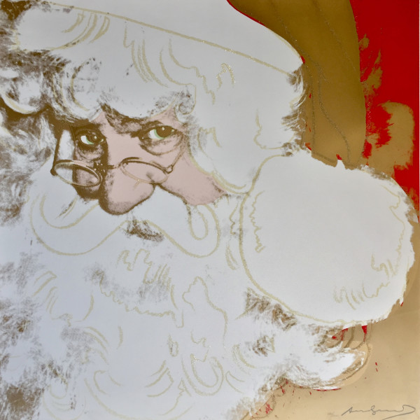 Andy Warhol, Santa Claus *SOLD*, 1981