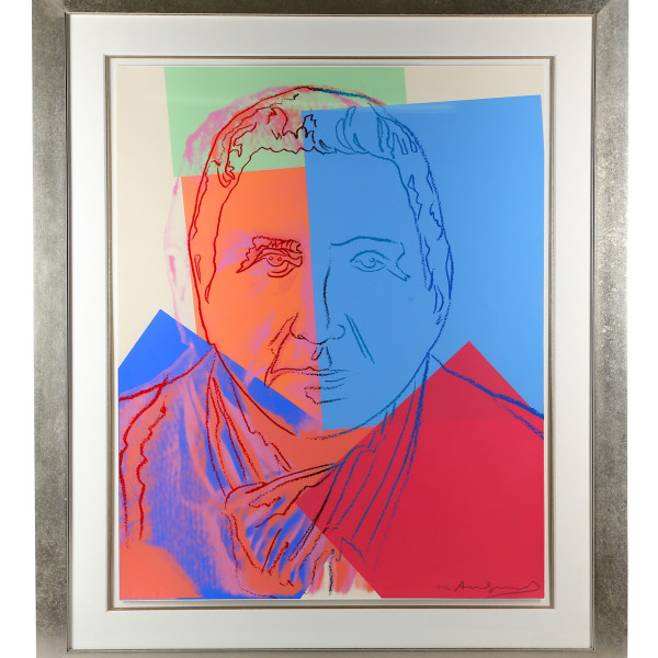 Andy Warhol, Gertrude Stein (Ten Portraits of Jews of the Twentieth Century) *SOLD*, 1980