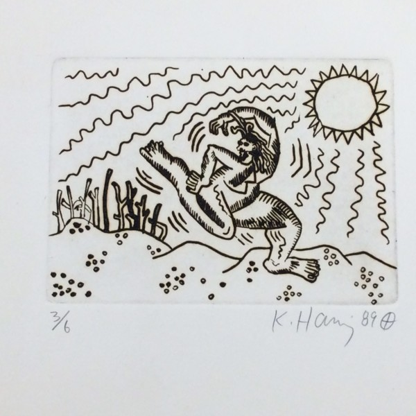 Keith Haring, Untitled , 1989