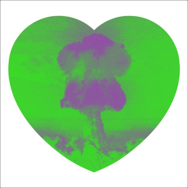 Iain Cadby, Love Bomb (Green and Purple), 2019