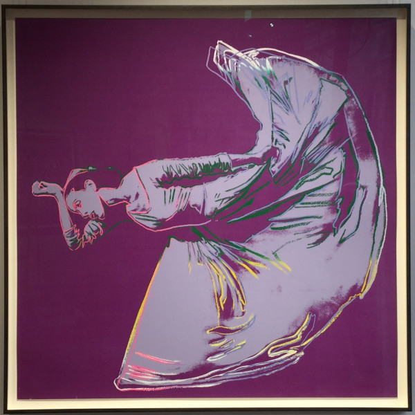 Andy Warhol, Letter To The World (The Kick) unique trial proof from the Martha Graham suite, 1986