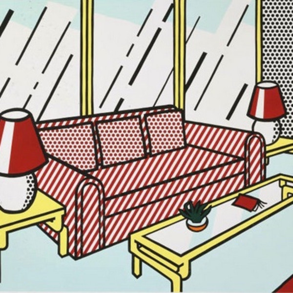 Roy Lichtenstein, Red Lamps
