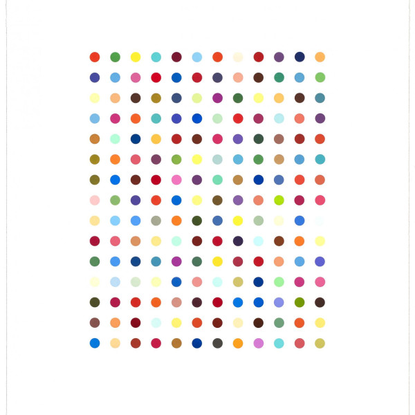 Damien Hirst, Ethidium Bromide Aqueous Solution *SOLD*, 2005