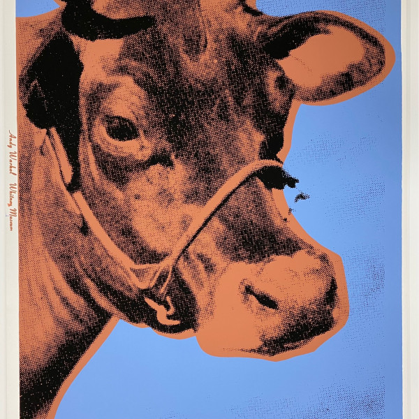 Andy Warhol, Cow, 1971