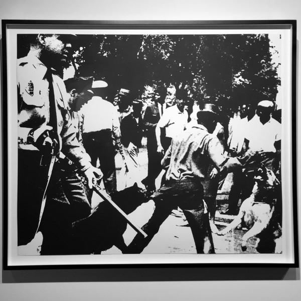 Andy Warhol, Birmingham Race Riot , 1964