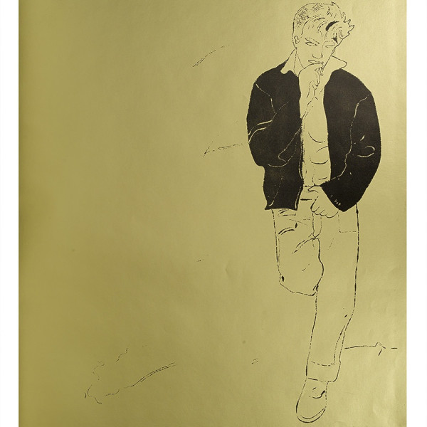 Andy Warhol, A Gold Book, IV 106, 1957