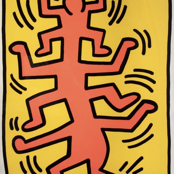Keith Haring, Growing Suite (No. 1) *SOLD*, 1988