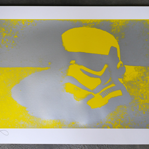 RYCA (Ryan Callanan), Helmet Study (Mono print series, each is a UNIQUE colour way), 2020