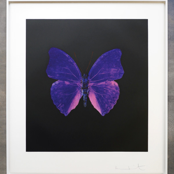 Damien Hirst, The Souls on Jacobs Ladder Take Their Flight (Purple) *SOLD*, 2007
