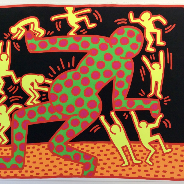 Keith Haring, Fertility No. 3 RARE, now available , 1983