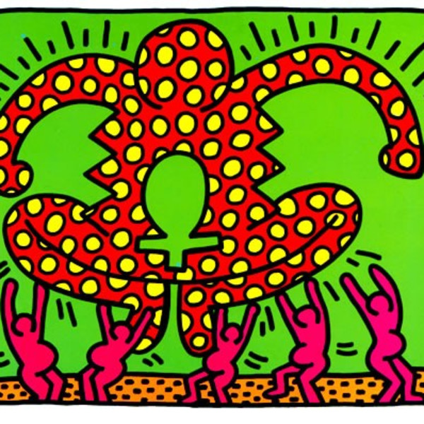 Keith Haring, Fertility Number 4 , 1983