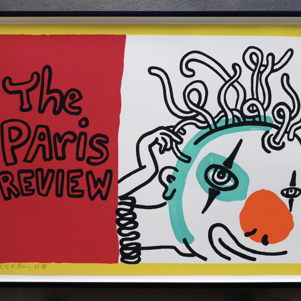 Keith Haring, The Paris Review *SOLD*, 1989