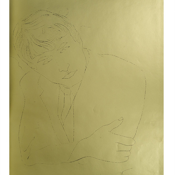 Andy Warhol, A Gold Book, IV.107, 1957