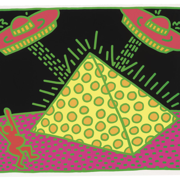 Keith Haring, Fertility Number 1 *SOLD*, 1983