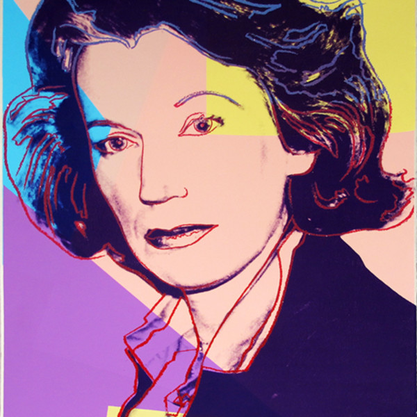 Andy Warhol, Mildred Scheel , 1980