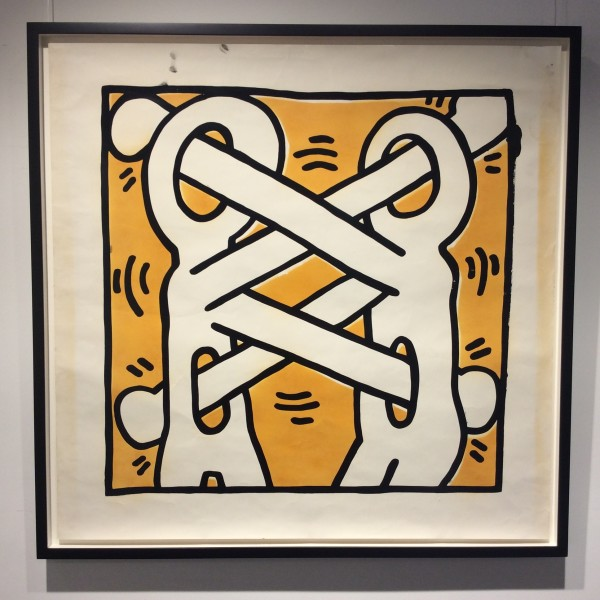 Keith Haring, Art Attack, rare studio proof *SOLD*, 1988