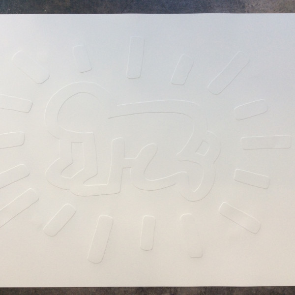 Keith Haring, White Icons (COMPLETE PORTFOLIO) *SOLD*, 1990