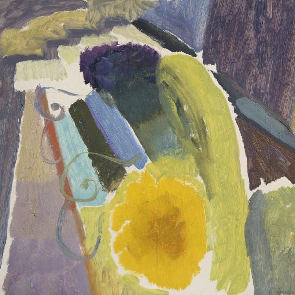 Blue & Yellow II, 1938