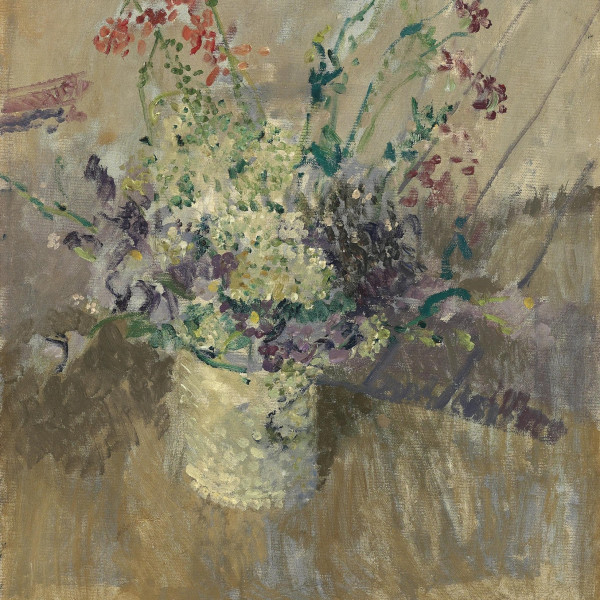 Flowers in a White Vase, 1911