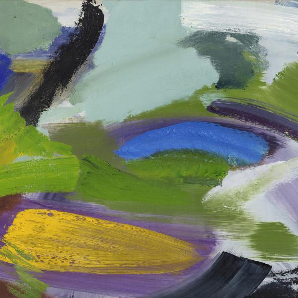 Yellow Boat , c1968